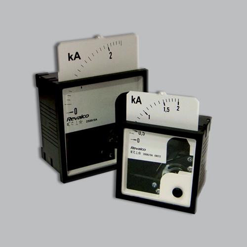 amperimetro con escalas intercambiables